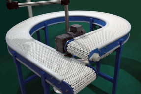 Circular conveyor belt